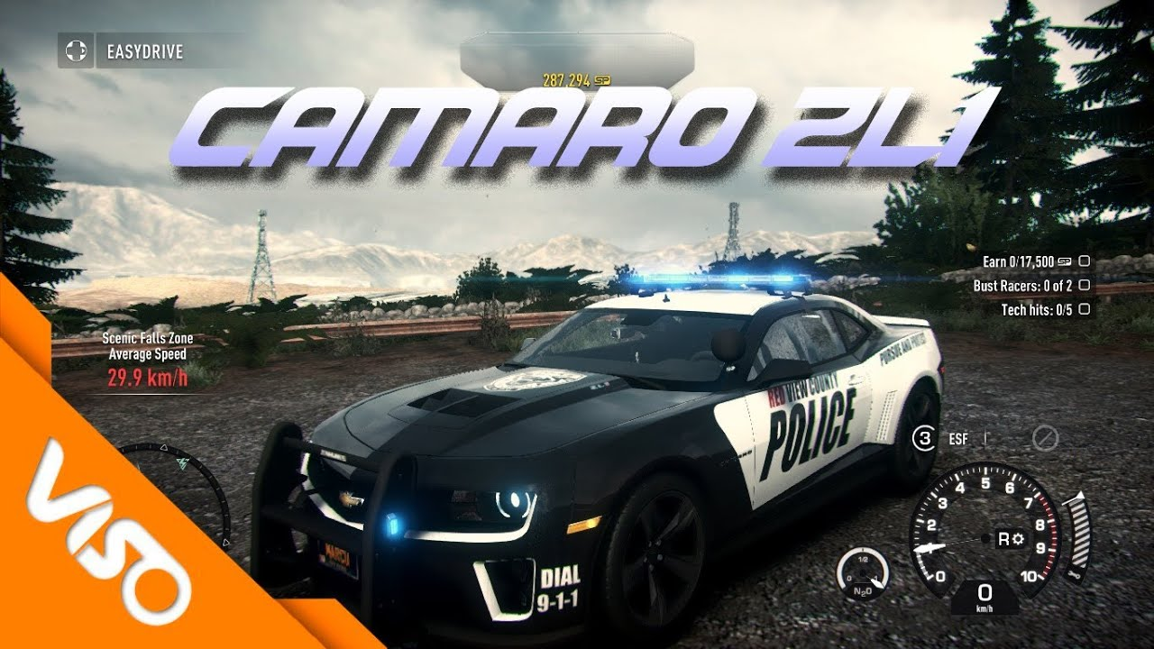 Need For Speed Rivals Chevrolet Camaro Zl1 Cop Police