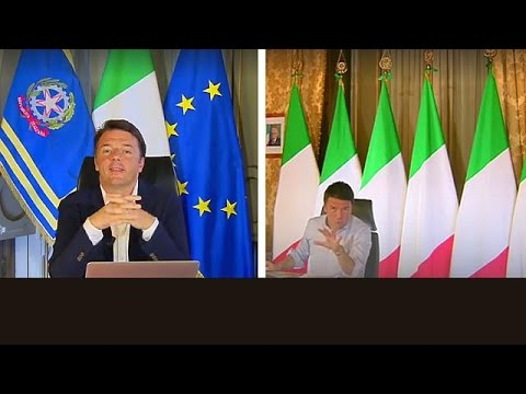 Italian Prime Minister Matteo Renzi turns his back on Europe