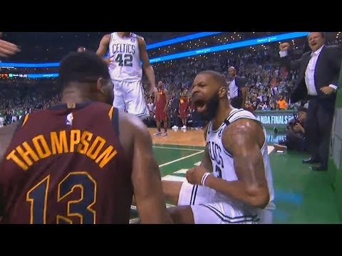 Marcus Morris Taunts Tristan Thompson and Both Exchange Words! Cavaliers vs Celtics Game 2