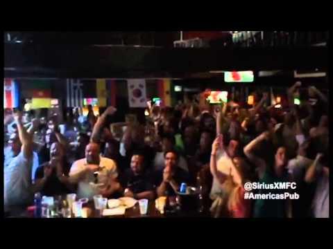 SiriusXM FC's America's Pub Tour - World Cup - USA vs Ghana crowd