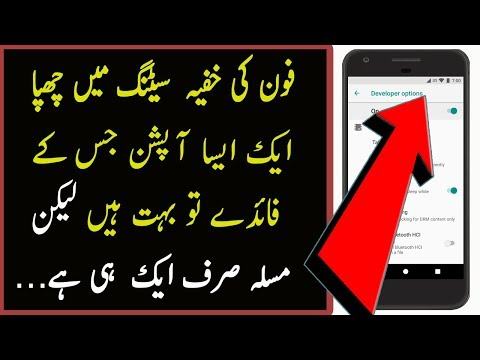 How To Enable / Disable Developer Option Android 2018 [Urdu/Hindi]