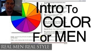 Color & Men's Clothing Video - Style System August Announcement - Mens Color Wheel Guide