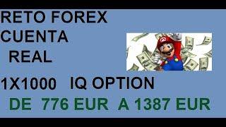 Ganando dinero operando en vivo de 100 EUROS A 1387 iq option !! Dia 5