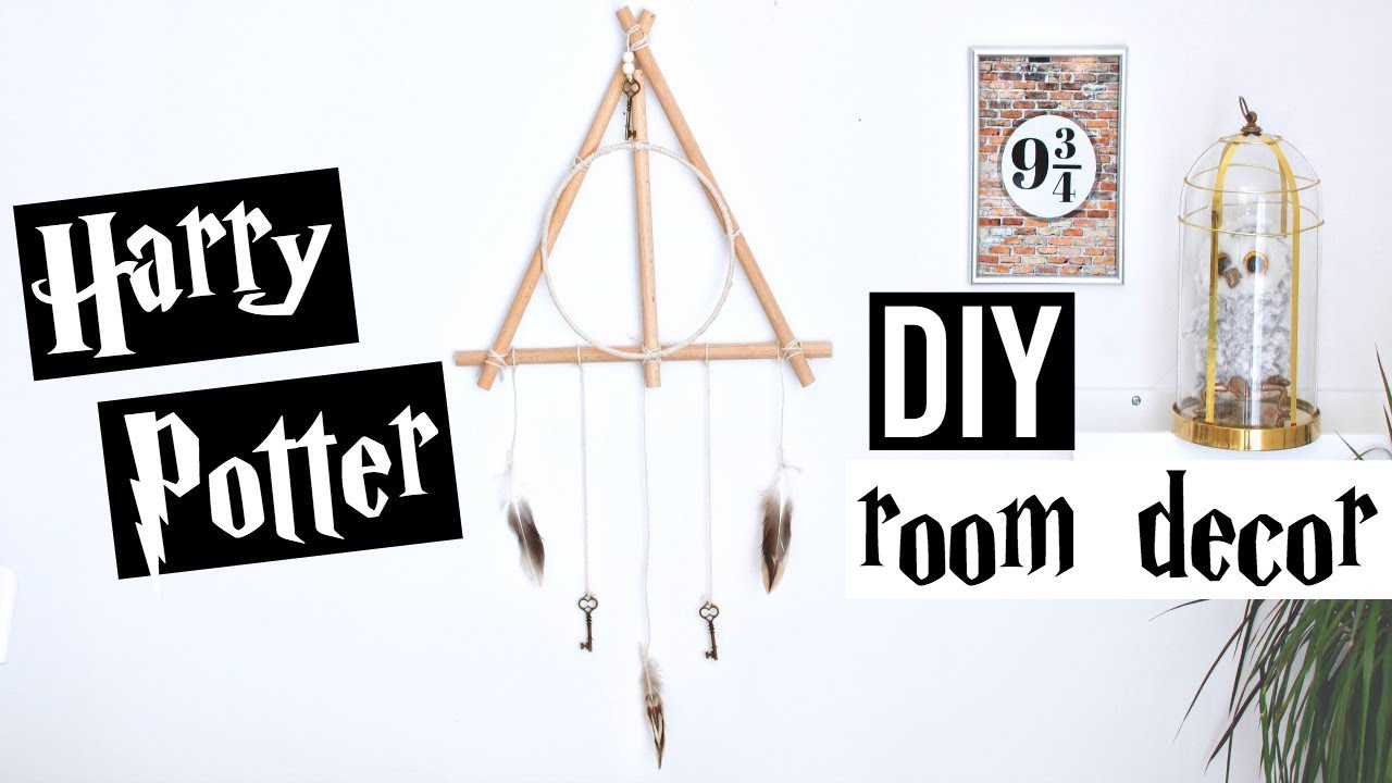 DIY Harry Potter #20 : Deco Chambre Facile / Room Decor (français)