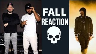 Eminem - Fall REACTION