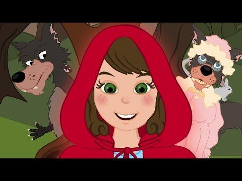 Le petit chaperon rouge  - dessin animé en français - conte pour enfants