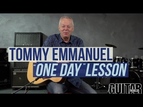 """Tommy Emmanuel - Martin Taylor's """"One Day"""" Acoustic Lesson"""