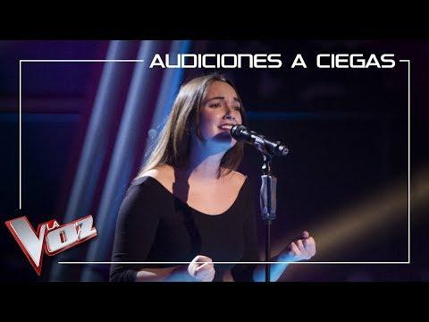 Marina Damer canta 'Lo saben mis zapatos' | Audiciones a ciegas | La Voz Antena 3 2019