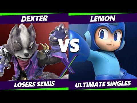 Smash Ultimate Tournament - Dexter Wolf  Vs Lemon Mega Man Cloud - SX 286 SSBU Losers Semis