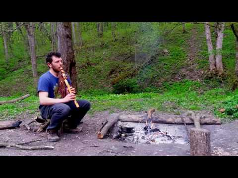 In The Forest . Native American Flute In F
