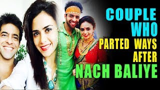 Gambar cover Top 12 TV Couples Who Parted Ways After Nach Baliye-2017
