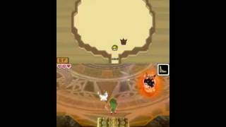 The Legend of Zelda: Phantom Hourglass - Boss#1: Blaaz, Master of Fire [No Damage]