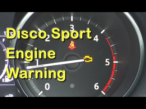 Land Rover Discovery Sport Engine Management Warning Light PANIC! (81)