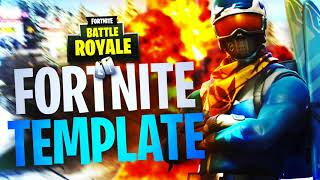 "NEW ""ALPINE ACE"" SKIN FORTNITE THUMBNAIL TEMPLATE! - (Fortnite Thumbnail Template FREE PSD)"