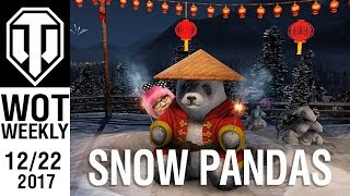 PC: World of Tanks Weekly #43 - It's a bunny, with glasses! (and Snow Pandas)