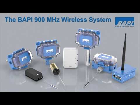 BAPI 900 MHz Wireless System Overview