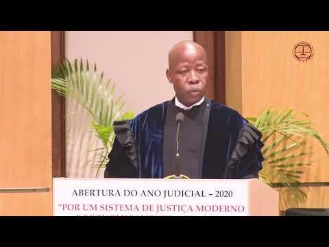 Abertura do Ano Judicial 2020- Discurso do Presidente do Tribunal Supremo Adelino Muchanga