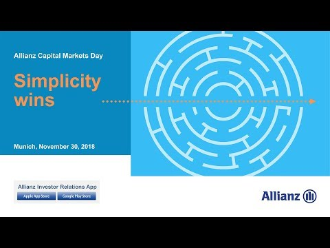 Capital Markets Day 2018, Oliver Bäte