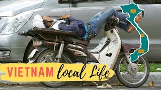 Vietnam: Noon Nap single shot of local life