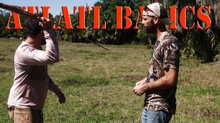 How To Throw An Atlatl SPEAR THROWER! Can I Hit The Target?