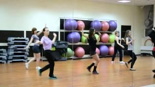 Фрагмент урока Dance Women-танцевальный класс Ирины Волковой.