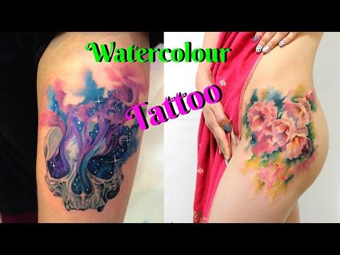 Best Watercolour Tattoos 2016