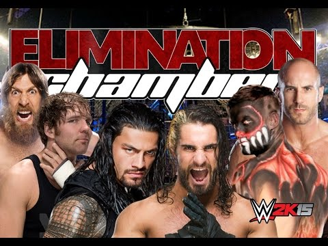 WWE Elimination Chamber 2016 | WWE2K15 | Ps4| Fantasy-Match!