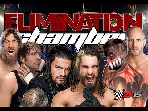 WWE Elimination Chamber 2016 | WWE2K15 | Ps4| Fantasy-Match!