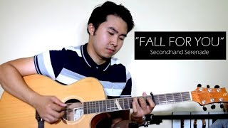 Video (WITH SLOW DEMO) Secondhand Serenade - Fall For You (Fingerstyle cover) download MP3, 3GP, MP4, WEBM, AVI, FLV November 2018