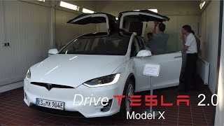 "DriveTesla 2.0: Auslieferung Tesla Model X ""Pegasus"""