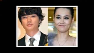 23歲日本男星染谷將太今天在官網報喜,宣布大他12歲的妻子菊地凛子做人...