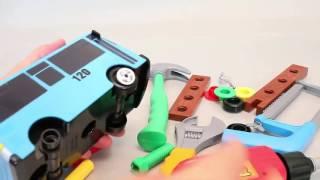 Тайо маленький автобус | 타요 꼬마버스 타요 만들기 공구 놀이 뽀로로 폴리 장난감 | Tayo the Little Bus Tools Car Toys