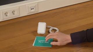 Unboxing & Installation des Sitecom WLX-2006 Wi-Fi Range Extender N300 - DEUTSCH