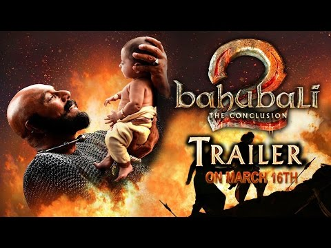 Thumbnail: Baahubali 2 official trailer on March 16 | Baahubali2 trailer | #baahubali2 | #prabhas
