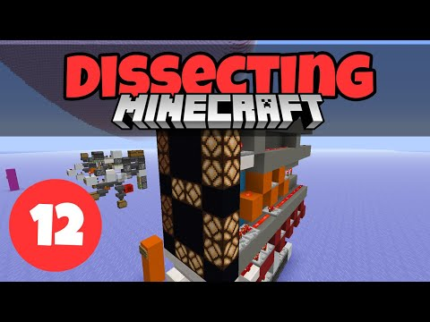 Dissecting Minecraft #12: 7 Segment Display & Shulker Box Loader/Unloader | Minecraft 1.13