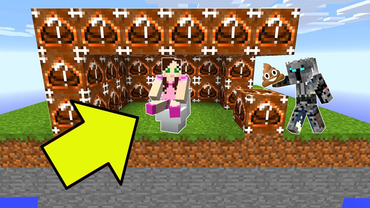 Minecraft: GROSS POOP GLÜCKLICHE BEDWARS! - Modifiziertes Minispiel + video
