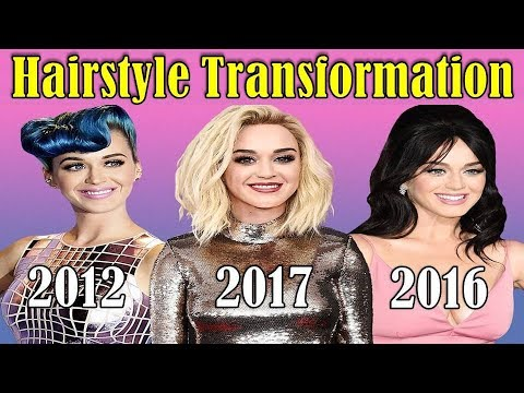 Katy Perry Hairstyle Transformation From 2000 To 2017 Katy Perry