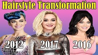 Katy Perry Hairstyle Transformation from 2000 to 2017 | Katy Perry | Katy Perry Haircut