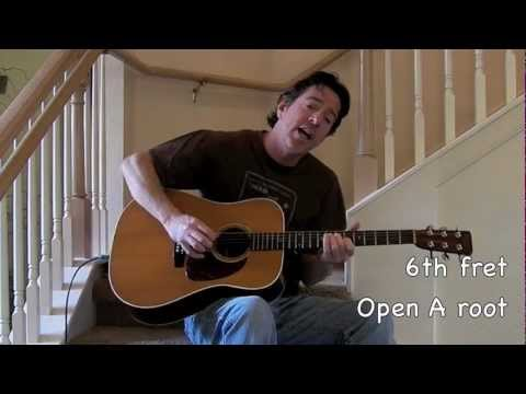On The Steps Going To California Guitar Lesson With Chords Youtube
