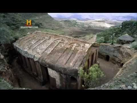 Lalibela Construções Monolíticas - Full HD  - Igrejas de Pedra  Etiópia