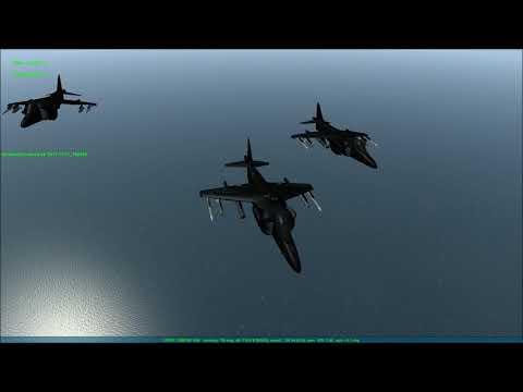 Falcon BMS 4.33 - The Black Death Harrier Squadron