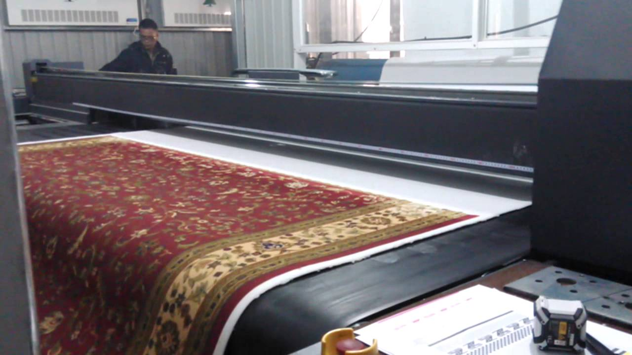 Digital Printing For Carpet Rug Tapis Footcloth Bikepet
