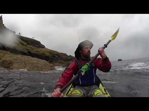 A Wild Day Kayak Fishing at St Abbs