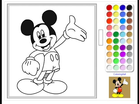 mickey mouse clubhouse coloring pages mickey mouse clubhouse coloring book youtube - Mickey Mouse Color Pages
