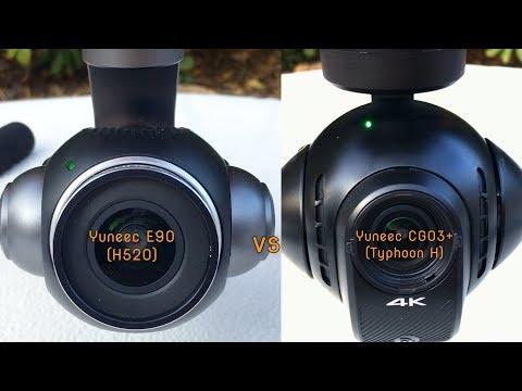 H520/E90 Vs Typhoon H/CGO3+   -  Cam Quality Comparison