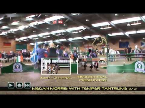 Temper Tantrums at Scottish Home Pony 2012 10yrs  and under teams