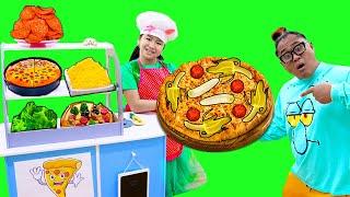 Let's Make Pizza Song | Jannie Pretend Play Nursery Rhymes & Kids Sing-Along Songs