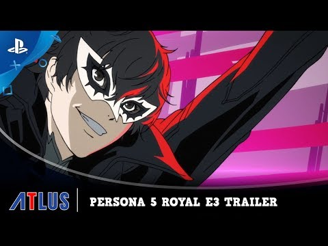 Persona 5 Royal - E3 2019 Trailer | PS4