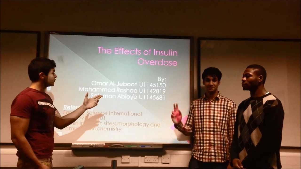 The Effects of Insulin Overdose - YouTube