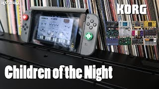 """Children of the Night"" remade on Korg Gadget for Nintendo Switch"